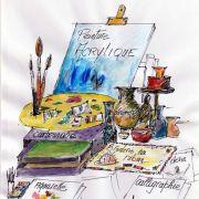 Exposition des ateliers de la Cour des Arts