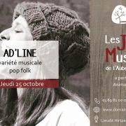 Ad\'line - Soirée musicale à l\'Auberge du HIRTZ