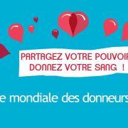 Journée Mondiale des Donneurs de Sang - Strasbourg