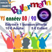 Soirée Ballermann vs Années 80/90