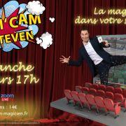 Magi\'cam spectacle de magie en ligne avec Steven Magicien