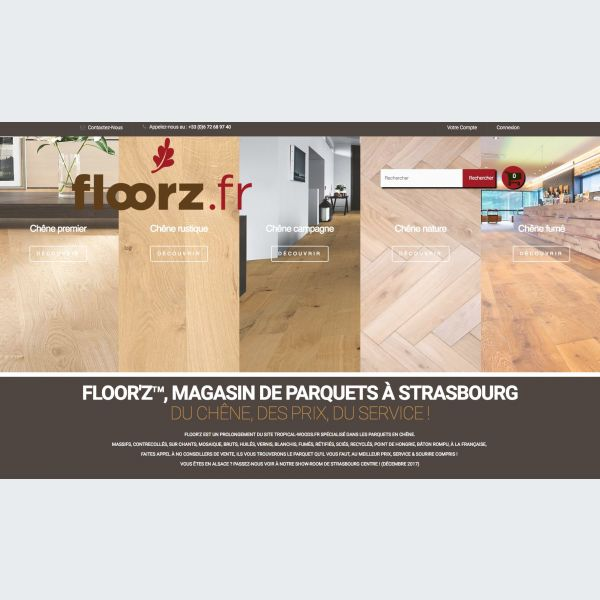 floorz le showroom priv de parquets strasbourg bricolage. Black Bedroom Furniture Sets. Home Design Ideas