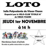 Loto du vélo club étoile 78 vieux thann