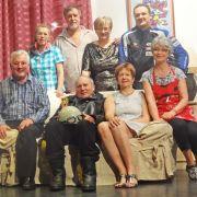 La troupe du Théâtre Alsacien Eguisheim