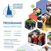Ouverture des inscriptions pour la saison 2020/2021 de l\'Université Populaire Européenne de Haguenau