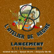 Ouverture de la boutique de Noël l\'Atelier et Régine