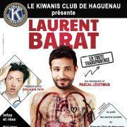 Laurent Barat - Spectacle au profit du Kiwanis de Haguenau