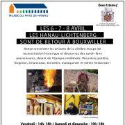 Journées Européennes des Métiers d'Art Les Hanau-Lichtenberg de retour à Bouxwiller !
