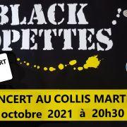 Concert des Black Lopettes avec leur show « THE GREAT BLUES STORY »