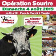 Opération Sourire des Jeunes Agriculteurs de la Vallée de Munster