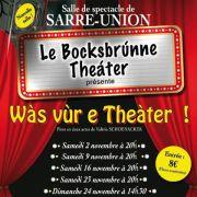 Saison Théâtrale à Sarre-Union