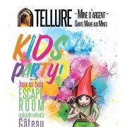 Kids party : forfait anniversaire au Parc Minier Tellure