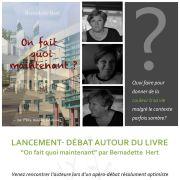 Lancement-débat autour du livre « On fait quoi maintenant ? »
