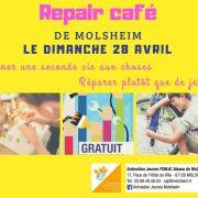Repair café de Molsheim - donner 1 seconde vie plutôt que jeter