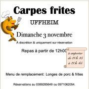 Repas Carpes Frites