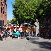 Répétition avec l\'Orphéon Municipal et les Trompettes de Mulhouse