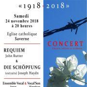 Concert Choeur, solistes et orchestre