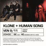 Klone Unplugged + Human Song