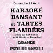 Karaoké dansant + tartes flambées