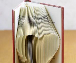 Atelier créatif de pliage de livres