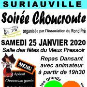 Soirée Choucroute