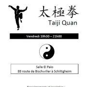 Nouveau Cours Taiji Quan (Tai Chi Chuan)