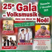 25ème Gala de Volksmusik dans son décor de Noël