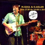 Duo M. Soul et  Olivier Aslan