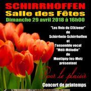 Chorale des Voix du C(h)oeur de Schirrhein-Schirrhoffen
