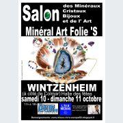 Salon des minéraux, cristaux, bijoux et de l\'art, Minéral Art Folie\'s