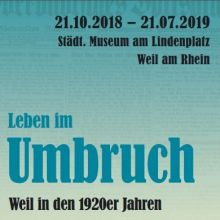 Le tournant – Renouveau. Weil am Rhein dans les années 20