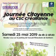 Journée Citoyenne au CSC Créaliance
