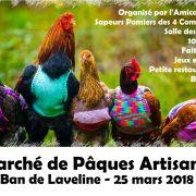 Marché de Pâques Artisanal à Ban de Laveline 2018