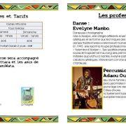 Stage de danse et percussions Africaines