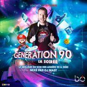 Génération 90 avec DJ Mast