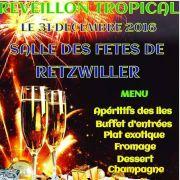 Réveillon tropical de la Saint-Sylvestre 2016-2017 à la Salle des fêtes - Retzwiller COMPLET