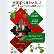 Week-end Théma Scilt : Vins bio, biodynamiques et natures