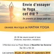 Grande pratique de Hatha-Yoga