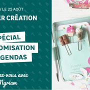 Atelier création : customisation d\'agendas