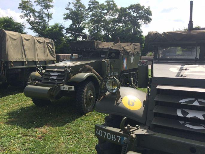 Les véhicules militaires à l\'honneur à la Cité de l\'Auto !