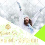 Bain de forêt - Solstice d\'hiver