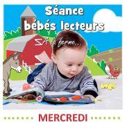 Séance bébés lecteurs : A la ferme
