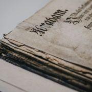Stage de reliure : la restauration de papier