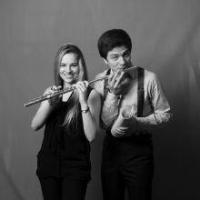 Joséphine Olech (flûte) et Selim Mazari (piano)