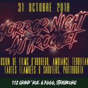 Horror Night au Troquet