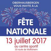 Fête nationale 2017 à Oberhausbergen