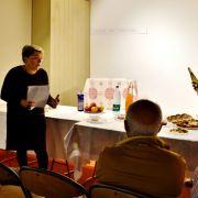 Repas avec différentes spécialités juives et lois cacher dans le cadre d\'Éveil des Sens