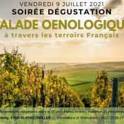 Soirée dégustation - Balade Œnologique à travers les terroirs Français
