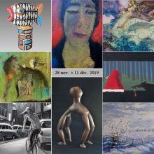 Exposition de 8 artistes à l\'AIDA Galerie