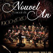Concert du Nouvel An et des 120 ans de l\'OHD
